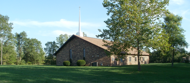 Front of Church Building